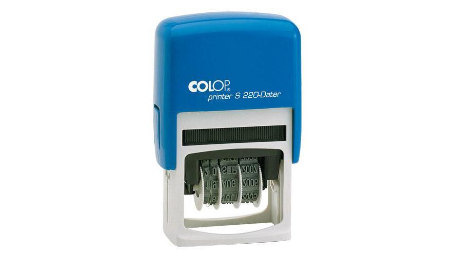 Printer S-220 Dater: Timbro autoinchiostrante DATARIO medio