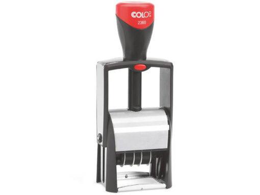 Printer S-2360: Timbro autoinchiostrante DATARIO con piastra