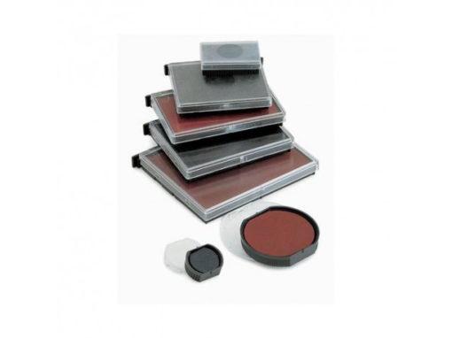 Tamponi per Timbri standard: già inchiostrati (nero, blu, rosso, verde)