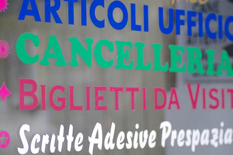 Scritte Adesive 3